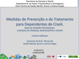 Medidas de Prevenção e de Tratamento para Dependentes