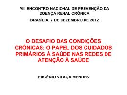 Eugênio - ABORDAGEM DAS CONDICOES CRONICAS NA APS 3