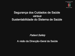 Diapositivo 1 - Ordem dos Enfermeiros