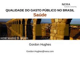 QUALIDADE DO GASTO PÚBLICO NO BRASIL Saúde