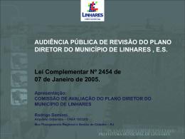 Apresentação do PDM por Rodrigo Damiani