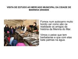 VISITA DE ESTUDO AO MERCADO MUNICIPAL DA CIDADE DE