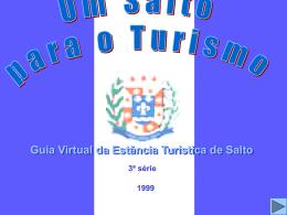 Fizemos um levantamento dos pontos turísticos da cidade de Salto