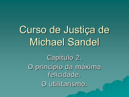 Curso de Justiça de Michael Sandel