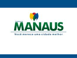 expansão urbana da cidade de manaus.