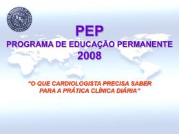 Book Comercial do Programa de Educação Permanente