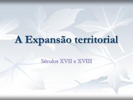 Expansão-territorial