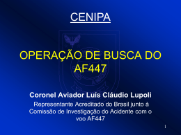 AF447 Apresentação Representante Acreditado