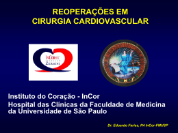 Reoperações em Cirurgia Cardiovascular
