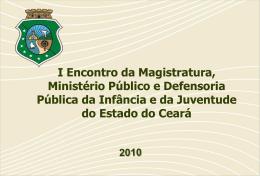 ECA - Processo Socioeducação - Ministério Público do Estado do