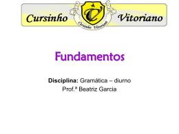 Fundamentos - Cursinho Vitoriano