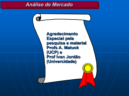 Análise de Mercado - TFS Comunicação & Marketing