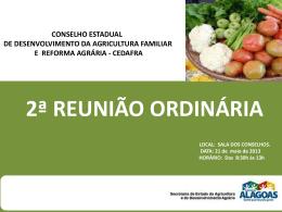 2ª Conferência de Desenvolvimento Rural Sustentável