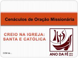 COMAgosto2013 - Missionários Combonianos