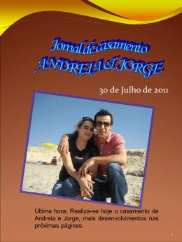 Jorge - O Nosso Casamento