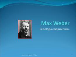 Max Weber (1864-1920