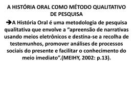 AULA-4-HISTORIA ORAL-HISTORIA DE VIDA