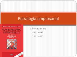 Estratégia empresarial - Universidade Castelo Branco
