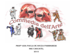 Commédia dell`arte