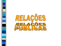 Objectivos das Relações Públicas