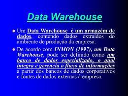 5. Data Warehouse
