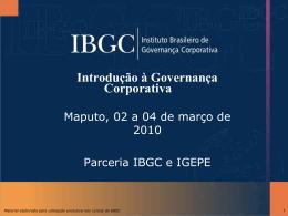 História e evolução conceitual da Governança Corporativa