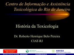 História da Toxicologia