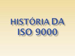 História da ISO 9000