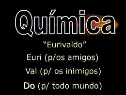 05 - Profº Euri - Quimica