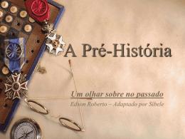 Pré-História - Colégio Alpis Veredas