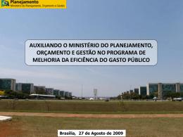 FORUM_SPOAv2 - Ministério do Planejamento, Orçamento e Gestão