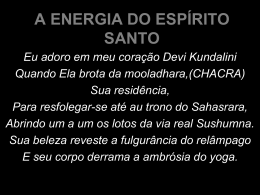 A Energia do Espirito