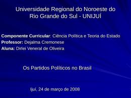 Universidade Regional do Noroeste do Rio