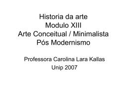 Arte Minimalista e A..