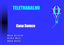 25. O Teletrabalho no Grupo Semco