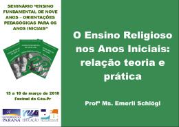 Slide 1 - ensinoreligiosonreapucarana