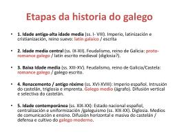 Sistema fonolóxico do galego medieval: as consoantes