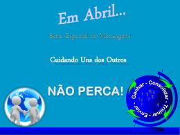 Cuidando Uns dos Outros - Aliança Biblica do Brasil