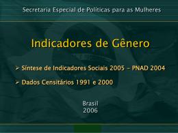 As mulheres brasileiras – quem somos nós?
