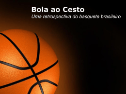 Basket Ball - Quero Incentivar