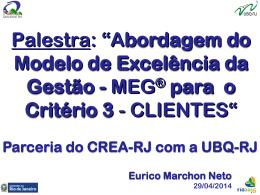 Como atender requisitos de gestão para clientes com base no MEG