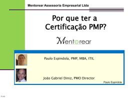 03. Por que ter a Certificação PMP?