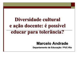 Palestra Marcelo Andrade