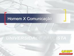 A comunicação empresarial - Ambiente Virtual de Aprendizado