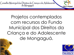 Projeto - Destinação Criança