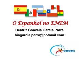O Espanhol no ENEM - Cursinho Vitoriano