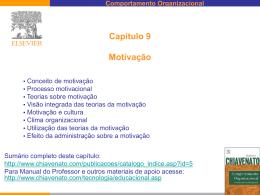 Aula 22 - Motivação - Professor Patrick Nunes
