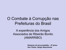 Amarribo - Ribeirão Bonito - SP