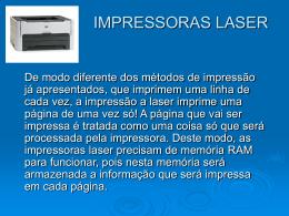 IMPRESSORAS LASER