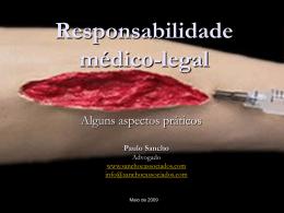 Responsabilidade médico